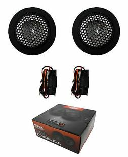 1 Pair Car Audio Tweeters With Cross Over's 120W 4 Ohm Neody