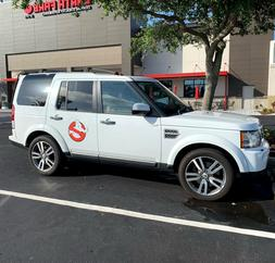 1 x Ghostbusters CAR MAGNET Ecto-1 1A Removable Auto Logo 14