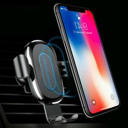 10W Wireless Car Fast Charger Magnetic Mount Holder For Sams