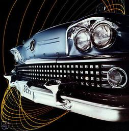 "1958 Buick Limited ""Car Art"", Refrigerator Magnet, 40 MIL"