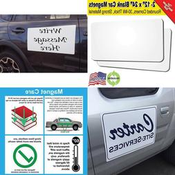 "2 Pack 12""X24"" Blank Car Door Magnets Ink Jet Printable A"