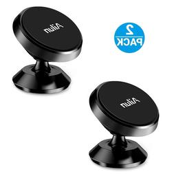 2-Pack 360 Degree Magnetic Car Mount Dashboard Holder For Ce