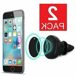 Magnetic Car Mount Air Vent GPS Cell Phone Holder iPhone 8 7
