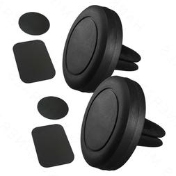 2-Pack Magnetic Cell Phone Mount Car Air Vent Holder Stand