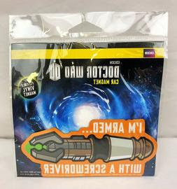 """2012 Doctor Who """"I'm Armed w/ a Screwdriver"""" Flexible Vinyl"""