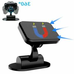360° Car Phone Holder Magnetic Mount Stand Dashboard For Ce