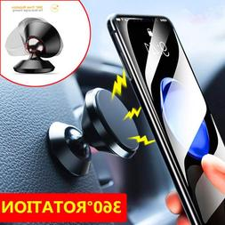 360 DEGREE MAGNETIC CAR DASH VENT MOUNT BALL DOCK HOLDER - C