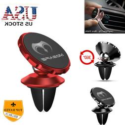 360 Rotating Magnetic Car Mount Holder Air Vent For Cell Pho