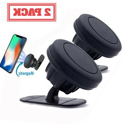 Magnetic Gear Car Phone Holder Dashboard 360 Rotation With M