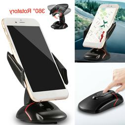 360° Universal In Car Dashboard Cell Mobile Phone GPS Mount