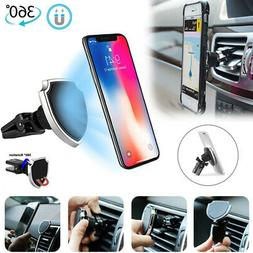 Magnetic Car Vehicle Holder Mobile Phone GPS Stand 360° Bra