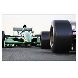 iPrint 3D Floor/Wall Sticker Removable,Cars,Motorized Sports