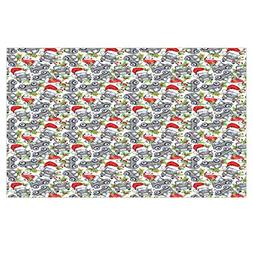 iPrint 3D Floor/Wall Sticker Removable,Cars,Christmas Themed