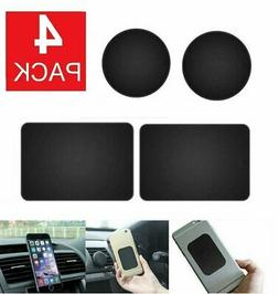 4-PACK Metal Plates Adhesive Sticker Replace For Magnetic Ca