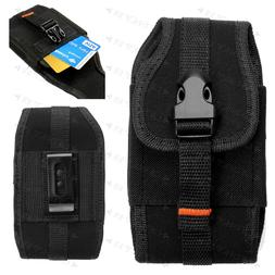Hybrid Protector Wallet Vertical Holster Pouch For Apple iPh
