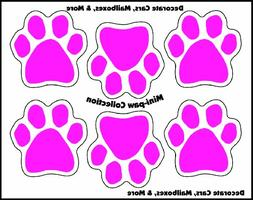 Imagine This 1-3/4-Inch by 1-3/4-Inch 6 Mini Paws Car Magnet