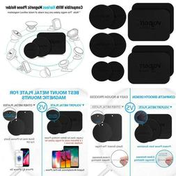 8 Pack Mount Metal Plate Volport Universal Magnetic Phone Ca