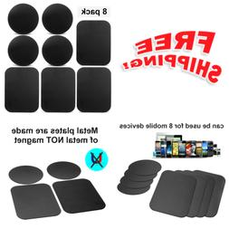 8Pack Mount Metal Plate,Volport Universal for Magnetic Phone