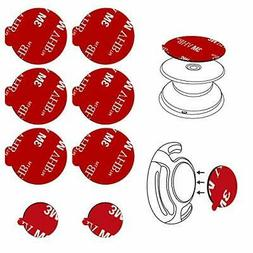 8pcs 3M Sticky Adhesive Replacement Parts for Socket Base, V