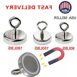 90 180lb fishing magnet super strong round