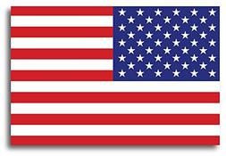 American Flag Car Magnet Decal - 4 x 6 Heavy Duty for Car Tr