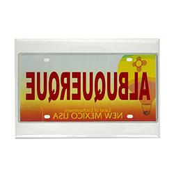 CafePress - New Mexico License Plate Magnet - Rectangle Magn