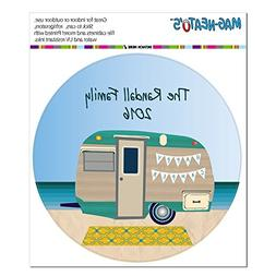 Graphics and More Personalized Custom Happy Camper Trailer B
