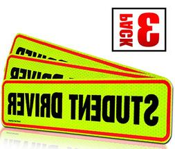 Student Driver Magnet Car Signs for The Novice or Beginner.