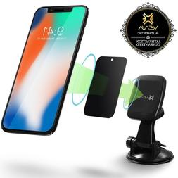 SuctionCup Magnetic Car Mount Phone Holder 360 Rotate iPhone