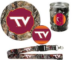 Virginia Tech Hokies Hunter Pack Set of Large Round RealTree
