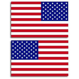American Flag Car Magnet Decal - 5x8 Opposing Heavy Duty for