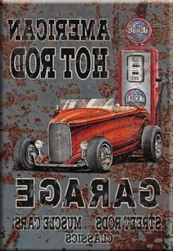 """""""AMERICAN HOT ROD GARAGE - STREET RODS MUSCLE CARS CLASSICS"""""""