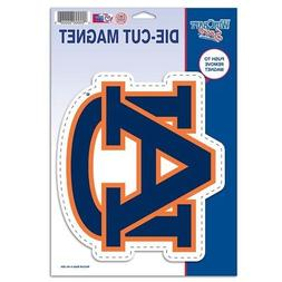 Auburn Tigers Official NCAA 6 inch x 9 inch Car Magnet by Wi