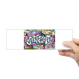 "CafePress Austin Graffiti Bumper Sticker 10""x3"" Rectangle Bu"