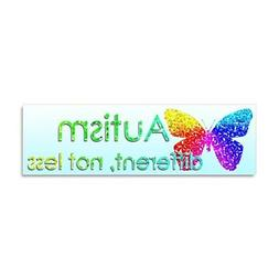 CafePress Autism Butterfly Car Magnet