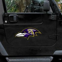 "Baltimore Ravens 12"" Die Cut Vinyl Magnets - Set of Two"