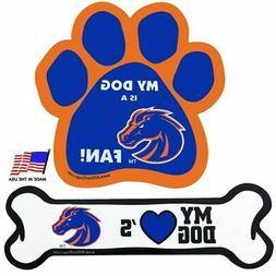 All Star Dogs Boise State Car Magnets - Paw