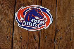 Broncos Car Magnet Boise State College Football Sports Decor