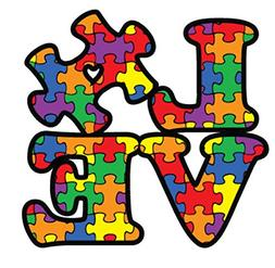 Bumper Stickers Decals & Magnets Autism Awareness Puzzle Pie