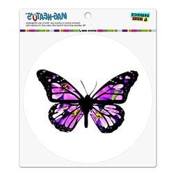 Butterfly with Flowers Automotive Car Refrigerator Locker Vi