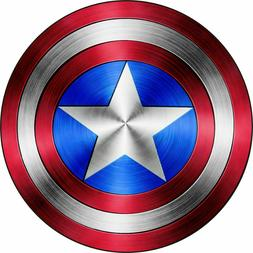Captain America Car REMOVABLE Magnet NEW Decal USA Sticker M