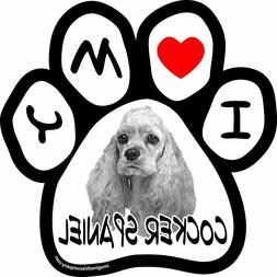 Car Magnet Imagine This 5-1/2-Inch by 5-1/2-Inch Picture Paw