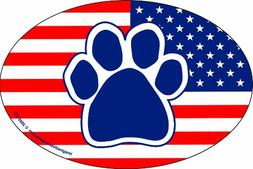 Imagine This 4-Inch by 6-Inch Car Magnet Oval, Paw American