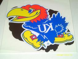 KANSAS JAYHAWKS Game Day Outfitters Car Magnet, Set 2 -  9""