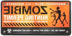 Car Magnet-Zombie Hunting Permit