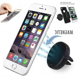 Car Magnetic Air Vent Mount Holder Stand for iPhone Cell Pho