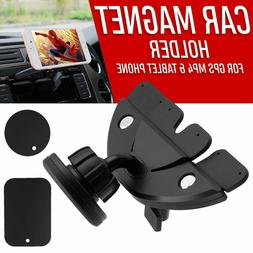 Car Magnetic Dash CD Slot Holder Mount Stand For Mobile iPho