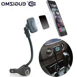 Car Magnetic Mount, Magnetic Car Phone Holder Stand with Dua