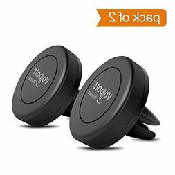 VOLPORT Car Mount, 2 Pack Universal Magnetic Air Vent Mount