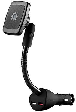 Car Mount with Fast Charger, WizGear Magnetic Power Socket M